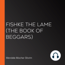 Fishke the Lame (The Book of Beggars)