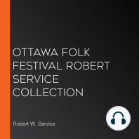 Ottawa Folk Festival Robert Service Collection