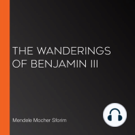 The Wanderings of Benjamin III