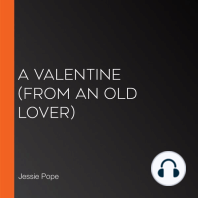 Valentine, A (From an old Lover)