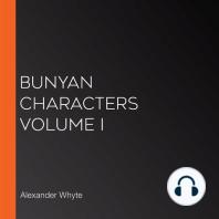 Bunyan Characters Volume I