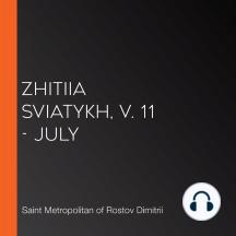 Zhitiia Sviatykh, v. 11 - July