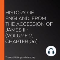History of England, from the Accession of James II - (Volume 2, Chapter 06)