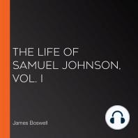 The Life of Samuel Johnson, Vol. I