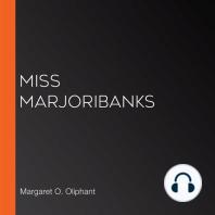 Miss Marjoribanks