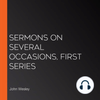 Sermons on Several Occasions, First Series