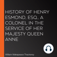 History of Henry Esmond, Esq., A Colonel in the Service of Her Majesty Queen Anne