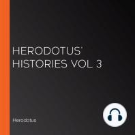 Herodotus' Histories Vol 3