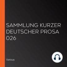 Sammlung kurzer deutscher Prosa 026