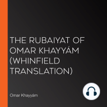The Rubaiyat of Omar Khayyám (Whinfield Translation)