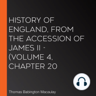 History of England, from the Accession of James II - (Volume 4, Chapter 20
