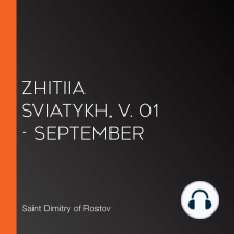 Zhitiia Sviatykh, v. 01 - September