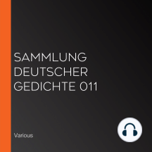 Sammlung deutscher Gedichte 011