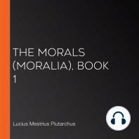 The Morals (Moralia), Book 1