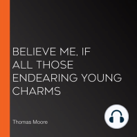Believe Me, if All Those Endearing Young Charms