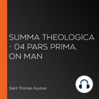 Summa Theologica - 04 Pars Prima, On Man
