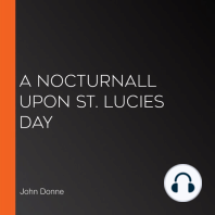 A Nocturnall Upon St. Lucies Day
