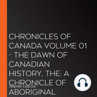 Chronicles of Canada Volume 01 - The Dawn of Canadian History, The