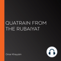 Quatrain from the Rubaiyat