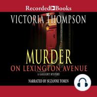Murder on Lexington Avenue