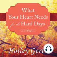 What Your Heart Needs for the Hard Days