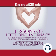 Lessons of Lifelong Intimacy: Building a Stronger Marriage Without Losing Yourself-The 9 Principles of a Balanced and Happy Relationship