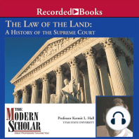 Law of the Land: A History of the Supreme Court