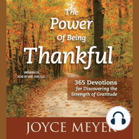 The Power of Being Thankful