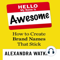 Hello, My Name is Awesome