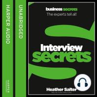 Interviews (Collins Business Secrets)