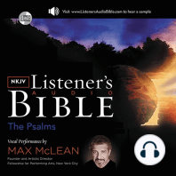 The KJV Listener's Audio Bible, New Testament