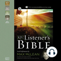 The KJV Listener's Audio Bible, Old Testament
