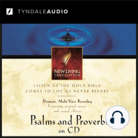 Psalms and Proverbs on CD: NLT