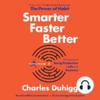 Smarter Faster Better