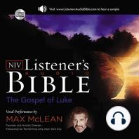 NIV Listener's Audio Bible