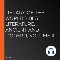 Library of the World's Best Literature, Ancient and Modern, volume 4