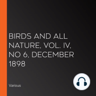 Birds and All Nature, Vol. IV, No 6, December 1898