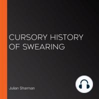 Cursory History of Swearing