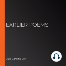 Earlier Poems