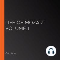 Life of Mozart Volume 1