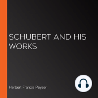 Schubert And His Works
