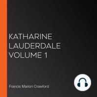 Katharine Lauderdale Volume 1