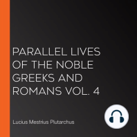 Parallel Lives of the Noble Greeks and Romans Vol. 4
