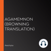 Agamemnon (Browning Translation)