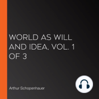 World As Will and Idea, Vol. 1 of 3