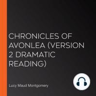 Chronicles of Avonlea (version 2 Dramatic Reading)