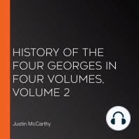History of the Four Georges in Four Volumes, Volume 2