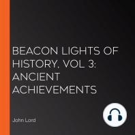 Beacon Lights of History, Vol 3