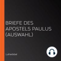 Briefe des Apostels Paulus (Auswahl)