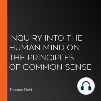 Inquiry into the Human Mind on the Principles of Common Sense